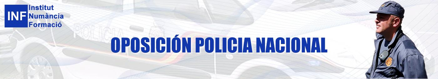 OPOSICIÓN POLICIA NACIONAL